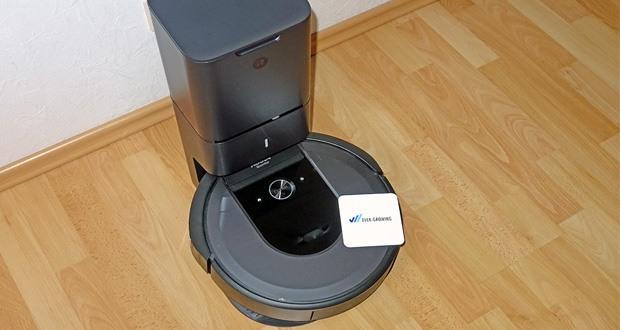 Saugroboter Roomba i7556 von iRobot mit Clean Base Automatische Absaugstation im Test