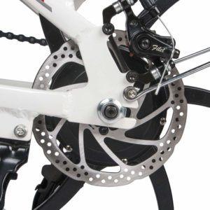 Bremse von E Bike Klapprad im Test und Vergleich