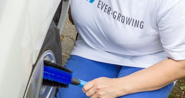 Die Felgenbürste von Licargo isthochwertig verarbeitetund durch die herausragende Qualität äußerstlanglebig und stressfrei