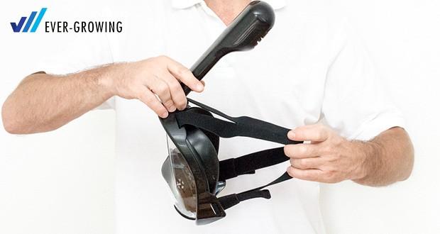 Tauchmaske von Hengda - elastische Gewebeband ist sehr einfach zu bedienen