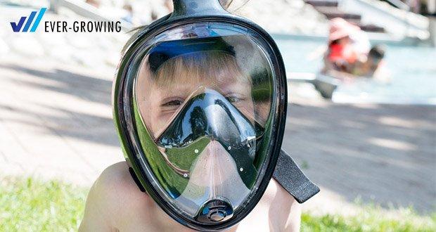 Tauchmaske von Hengda mit maximalen Komfort