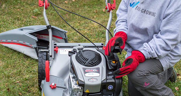 IKRA Benzin 4in1 Rasenmäher Mulcher im Test - kein Ölwechsel nötig (Just Check & Add)