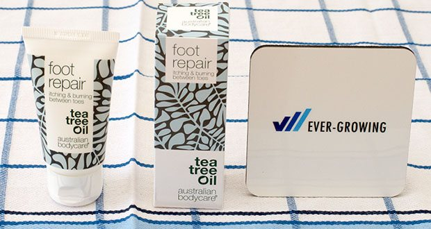Australian Bodycare foot repair Fußreparaturgel im Test - natürliches Gel für fusspflege bei Fußpilz und Juckreiz