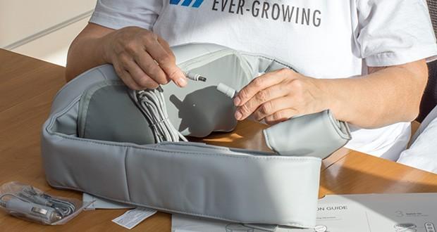 Naipo oCuddle Nackenmassagegerät im Test - Komfortwärme in 2 verstellbare Stufen für mehr Entsapnnung