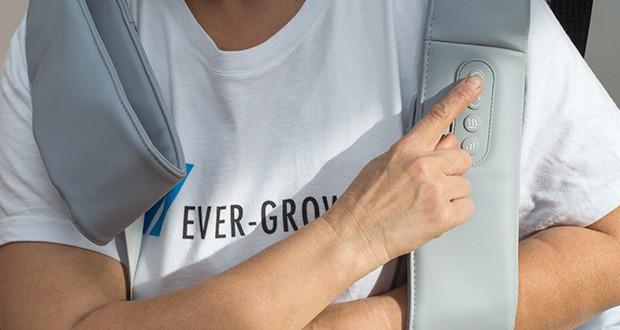 Naipo oCuddle Nackenmassagegerät im Test - einstellbare Intensität & Bidirektionale Massage