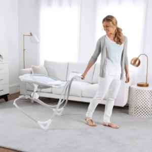 Im Elektrische Babywippe Test - Funktionalität