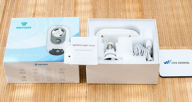 SENS8 Light Cam Ãœberwachungskamera im Test - lokale Speicherung auf 8 GB (eingebauter eMMC Speicher)