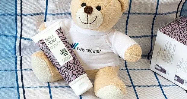 Australian Bodycare Femi Daily Intimpflege im Test - mit Australischen Teebaumöl ist ein natürliches Gel für die tägliche Pflege des Intimbereichs