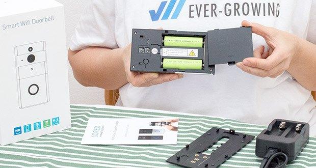 SOREX WLAN Video Türsprechanlage im Test - ganz einfach möglich mit der batteriebetriebenen Video Türsprechanlage mit Weitwinkelaufnahme und Bild in HD-Qualität