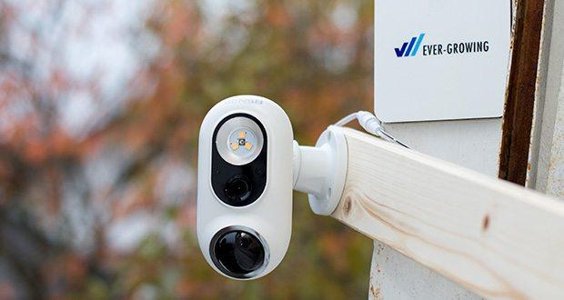SENS8 Light Cam Überwachungskamera im Test - Auflösung 1920 x 1080, Videosensor: 2MP (1080p HD)