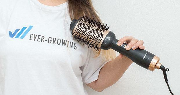 Aokebeey Multifunktions Warmluftbürste im Test - kombiniert perfekt einen Haartrockner mit einem Styling Kamm