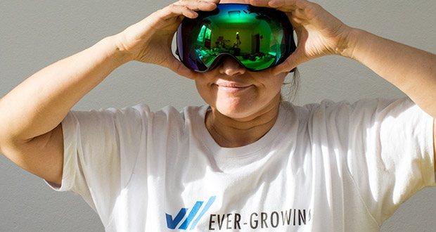 MessyWeekend Float Skibrille im Test - Tolles Design, perfekte Passform