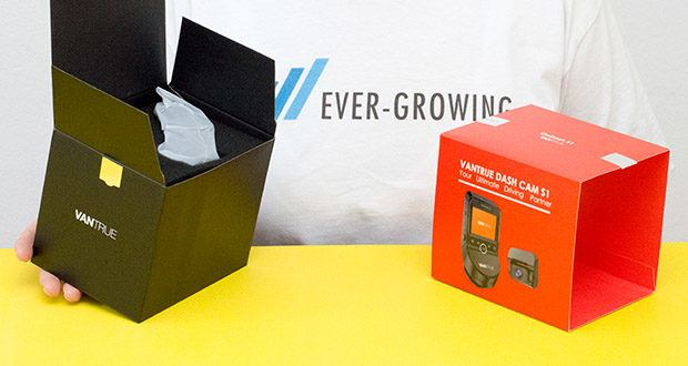 VANTRUE S1 Dual Dashcam im Test - Unterstützt Mikro SD Karte von Klasse 10 oder höher (max. 256 GB Karte)