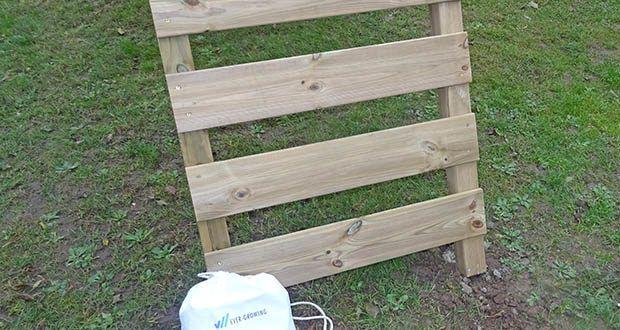 WICKEY Doppelschaukel mit Rutsche im Test - Schaukelgestell aus Vierkantholz