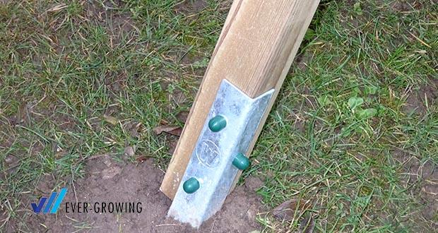 WICKEY Doppelschaukel mit Rutsche im Test - Schaukel in Beton verankern, bitte Anker dazu bestellen