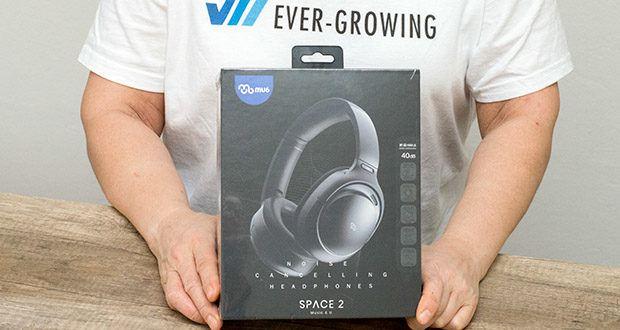 Mu6 Space 2 Active Noise Cancelling Kopfhörer im Test - mit Spitzenwert ANC: 40dB