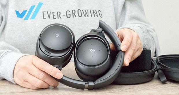 Mu6 Space 2 Active Noise Cancelling Kopfhörer im Test - das ergonomische Design passt genau in Ihre Ohren und sorgt für eine nahtlose Abdichtung zur Unterdrückung von Außengeräuschen und maximalen Hörkomfort