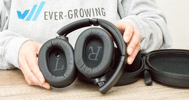 Mu6 Space 2 Active Noise Cancelling Kopfhörer im Test - Treiber: Dynamisch 40mm / Impedanz: 32Ω / Empfindlichkeit: 100dB±3dB/mW