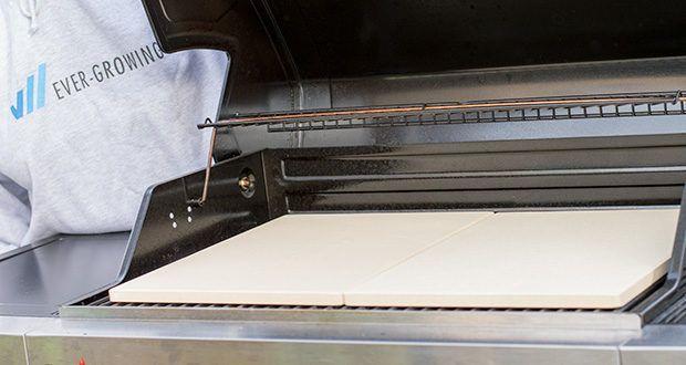 GARCON Pizzastein 4er Set im Test - Pizzastein passt in jeden Backofen und Gasgrill
