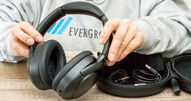 Mu6 Space 2 Active Noise Cancelling Kopfhörer im Test - Bluetooth Version: Bluetooth V5.0 / Bluetooth-Reichweite: 10m