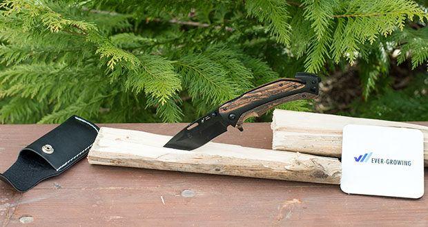 BERGKVIST 3-in-1 Taschenmesser K29 Tiger im Test - extra scharfe 7cr17 Edelstahlklinge in schwarz