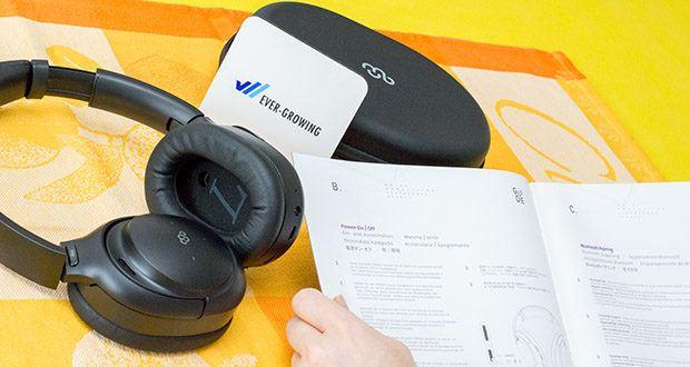 Mu6 Space 2 Active Noise Cancelling Kopfhörer im Test - automatische Pause und Wiedergabe: mit dem eingebauten Infrarot-Näherungssensor stoppt der Ton automatisch, wenn Sie die Kopfhörer abnehmen, und wird wieder aufgenommen, wenn Sie sie wieder aufsetzen