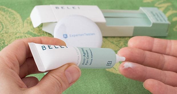 Ultra sensible Anti-Ageing-Augencreme von Amazon-Marke Belei 15 ml im Test