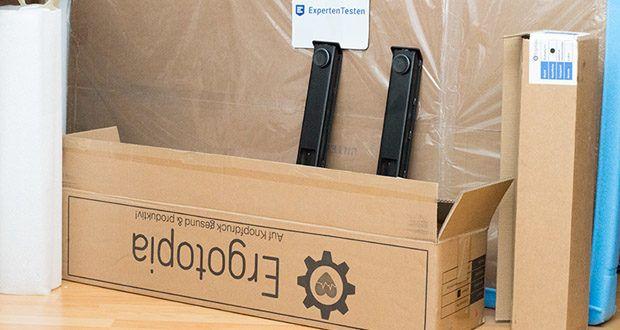 Ergotopia elektrisch höhenverstellbarer Schreibtisch im Test - mit 5 Jahren Garantie