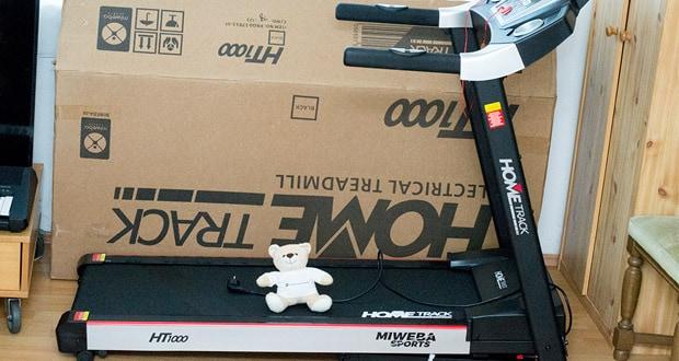 Das Laufband Home Track HT1000F mit incline von Miweba Sports – für Läufer gedacht und gemacht!