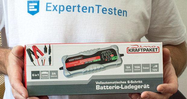 Dino KRAFTPAKET 10A-12V/24V Batterieladegerät im Test - mit 11 wählbaren Programmen