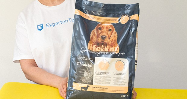 Lifelong Hundefutter für ausgewachsene Hunde mit Huhn im Test - hochwertige Rezeptur mit 59 % Huhn