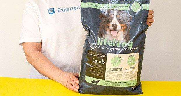 Lifelong Hundefutter für ausgewachsene Hunde mit Lamm im Test - für Hunde mittelgrosser und grosser Rassen