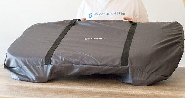 Kinderkraft Beistellbett UNO im Test - inkl. Transporttasche
