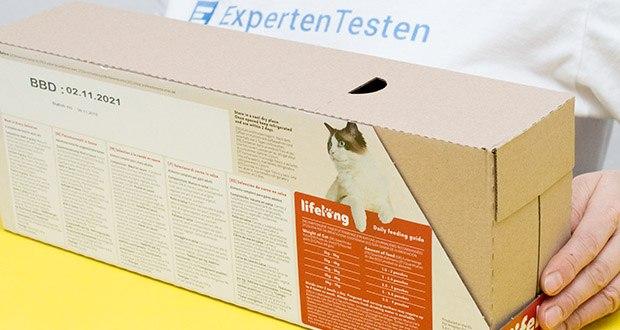 Lifelong Katzenfutter mit Fleischauswahl im Test - Futtermittel für ausgewachsene Katzen: 100%ig ausgewogenes Alleinfuttermittel