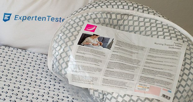 Motherhood Stillkissen im Test - Stoffe in hochwertiger und geprüfter Qualität