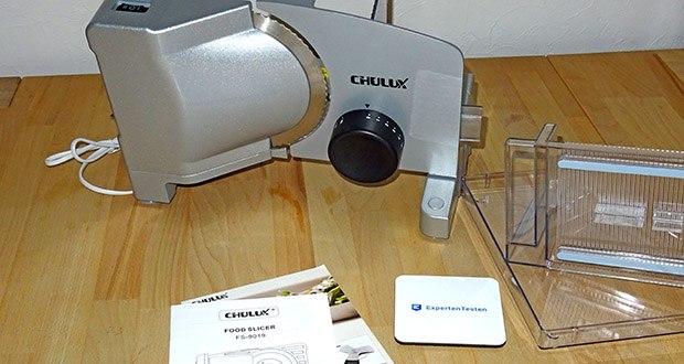 CHULUX Allesschneider im Test - maximale Leistung: 120 Watt