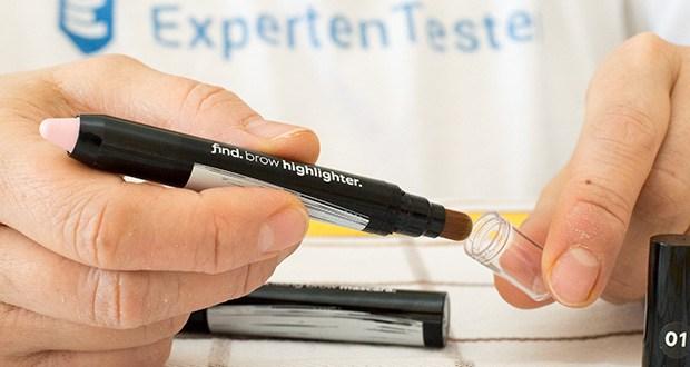 FIND Augenbrauen-Highlighting Kit im Test - verwenden Sie Augenbrauen-Konturenstift mit Kabuki-Bürste, um Ihre Augenbrauen dichter und perfekt gefüllt aussehen zu lassen