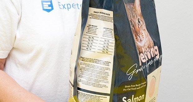 Lifelong Katzen Trockenfutter mit Lachs im Test - Hypoallergen Enthält eine einzige tierische Proteinquelle (Lachs)