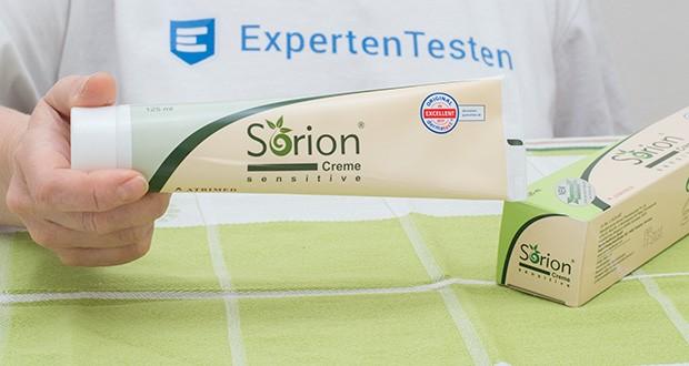 Sorion Creme Sensitive im Test - frei von Mineralölen, Paraffinen und Parabenen