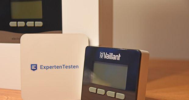 Vaillant Elektro-Durchlauferhitzer VED E 21/7 im Test - höchster Bedienkomfort durch einheitliches Klartext-Bedienmenü und Grafikdisplay