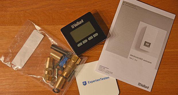 Vaillant Elektro-Durchlauferhitzer VED E 21/7 im Test - Serienmäßig mit einer Funkfernbedienung mit Klartext-Display