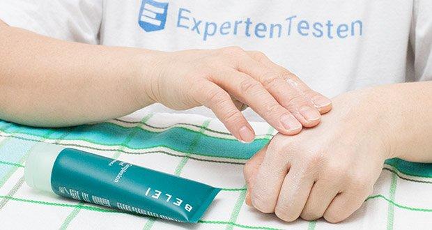 Belei Gesichtspeeling 75 ml im Test - verwenden Sie es 1-2 Mal in der Woche auf dem befeuchteten Gesicht und Hals für einen verfeinerten und klaren Teint