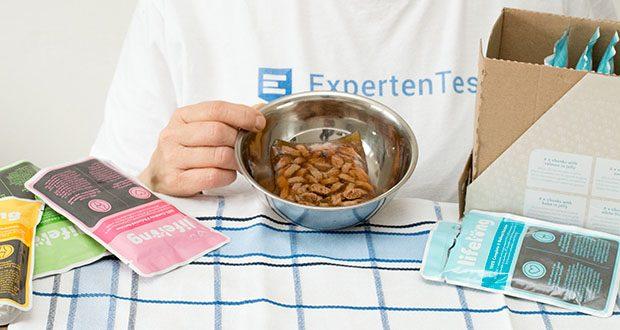 """PLifelong Katzenfutter mit Fischauswahl im Test - Produkt enthält """"verschiedene Zucker"""" - es wird ein Karamellsirup als natürlicher Farbstoff verwendet (0,15 %); es wird kein anderer Zucker zugesetzt"""