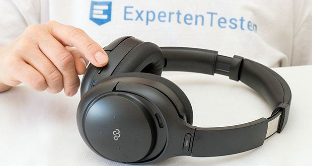Mu6 Bluetooth Kopfhörer Space2 im Test - ANC EIN/AUS Anfassung und Transpaenzmodus & sprechen smart