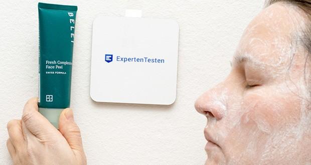 Belei Gesichtspeeling 75 ml im Test - massieren Sie es sanft in das Gesicht und den Hals ein und meiden Sie den Augenbereich. Waschen Sie es dann mit lauwarmem Wasser ab