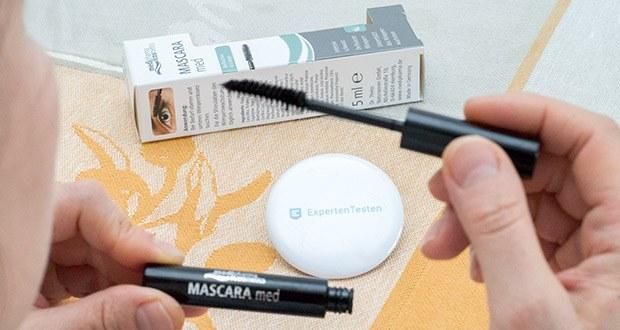Dr. Theiss Naturwaren MASCARA med 5 ml im Test - Augen-, Kontaktlinsen- und Hautverträglichkeit dermatologisch bestätigt