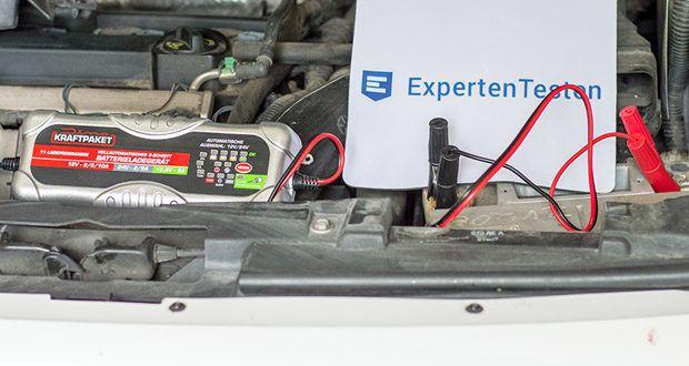 Dino KRAFTPAKET 10A-12V/24V Batterieladegerät im Test - mit dem Frost-Modus wird der Ladevorgang den tiefen Temperaturen angepasst