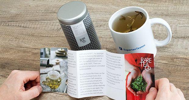 Rare Tea Company Jasmine White Silver Tip Tee im Test - einstmals nur der chinesischen Kaiserfamilie vorbehalten