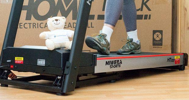 Das Laufband Home Track HT1000F mit incline von Miweba Sports - lassen Sie sich zu sportlichen Höchstleistungen antreiben und nutzen Sie das elektrische Laufband für regelmäßige Trainingseinheiten!