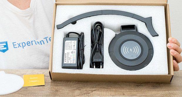 EasyAcc Kopfhörerhalter Headset Halterung im Test - Maße: 128,2x147.58x282,2mm / Gewicht: 248g